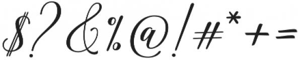 Hadhelia Script Regular otf (400) Font OTHER CHARS