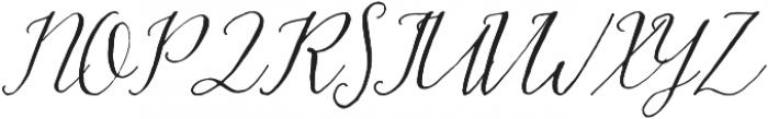 Hadley otf (400) Font UPPERCASE