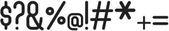 Hadrea otf (400) Font OTHER CHARS