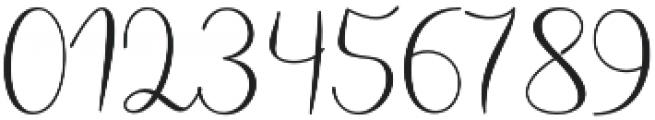Haertbel Script Regular otf (400) Font OTHER CHARS