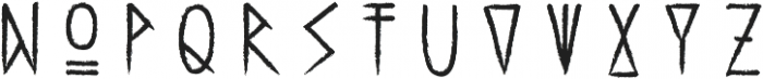 Haext Bold otf (700) Font UPPERCASE