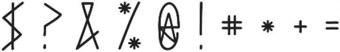 Haext Plain otf (400) Font OTHER CHARS