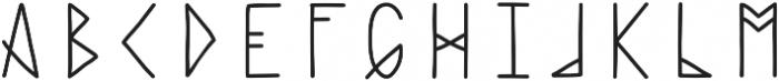 Haext Plain otf (400) Font UPPERCASE