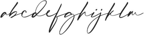 Hafidz otf (400) Font LOWERCASE