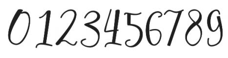 Hafizan Script otf (400) Font OTHER CHARS
