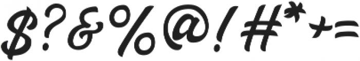 Haglos ttf (400) Font OTHER CHARS