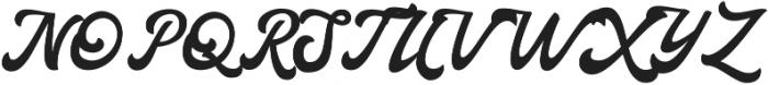 Haglos ttf (400) Font UPPERCASE