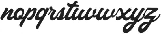 Haglos ttf (400) Font LOWERCASE