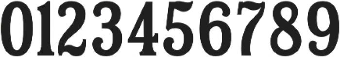 Hailgate Condensed otf (400) Font OTHER CHARS