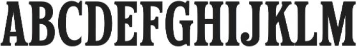 Hailgate Condensed otf (400) Font UPPERCASE