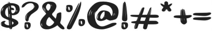 Hairambe otf (400) Font OTHER CHARS