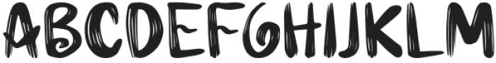 Hairambe otf (400) Font UPPERCASE