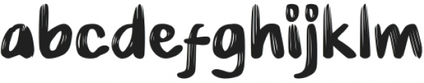 Hairambe otf (400) Font LOWERCASE