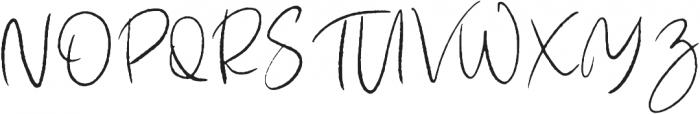 Hairband otf (400) Font UPPERCASE
