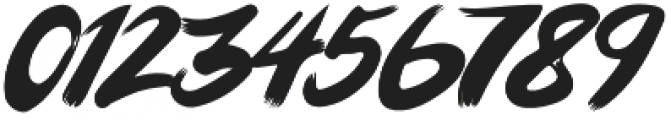 Hairmusk otf (400) Font OTHER CHARS