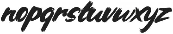 Hairmusk otf (400) Font LOWERCASE