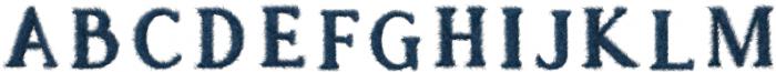 Hairy2 Regular2 otf (400) Font UPPERCASE