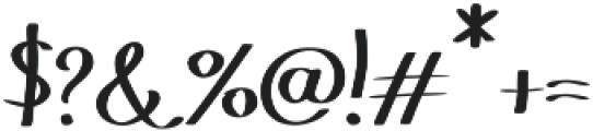 Hakyt otf (400) Font OTHER CHARS