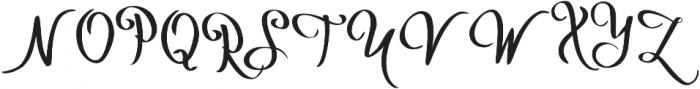 Hakyt otf (400) Font UPPERCASE