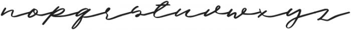 Halbrein Regular otf (400) Font LOWERCASE