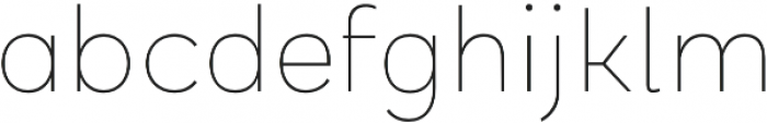 Halcyon Hairline otf (100) Font LOWERCASE