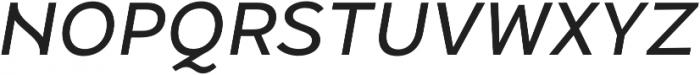 Halcyon Medium Italic otf (500) Font UPPERCASE