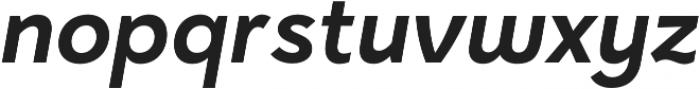Halcyon SemiBold Italic otf (600) Font LOWERCASE
