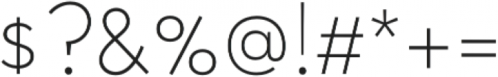 Halcyon Thin otf (100) Font OTHER CHARS