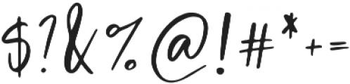 Halfdressed Alt otf (400) Font OTHER CHARS