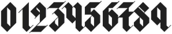 Halja OT Illuminated otf (400) Font OTHER CHARS