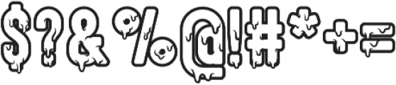 Hallo Creamy ttf (400) Font OTHER CHARS