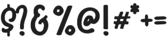 HalloTwin monoline otf (400) Font OTHER CHARS