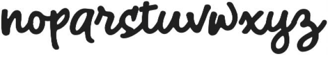 HalloTwin monoline otf (400) Font LOWERCASE