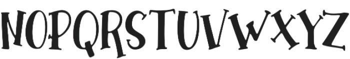 Hallotwin Script otf (400) Font UPPERCASE