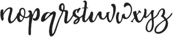 Hallotwin Script otf (400) Font LOWERCASE