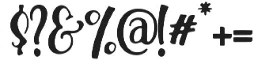 Hallotwin Sherif otf (400) Font OTHER CHARS