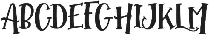 Hallotwin Sherif otf (400) Font UPPERCASE