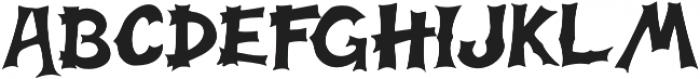 Halloweb otf (400) Font UPPERCASE