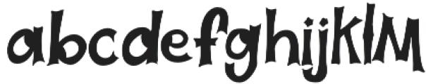 Halloweb otf (400) Font LOWERCASE