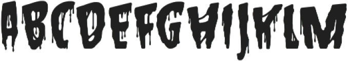 Hallowed Eve ttf (400) Font UPPERCASE