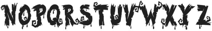 Halloween Voysla otf (400) Font LOWERCASE