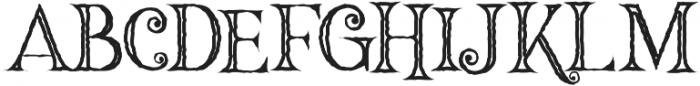 Hallowen Inline otf (400) Font UPPERCASE