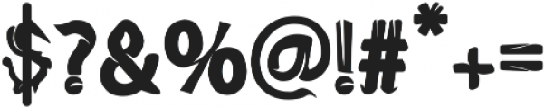 Hallowenkuy otf (400) Font OTHER CHARS