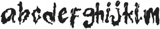 Hallowenkuy otf (400) Font LOWERCASE
