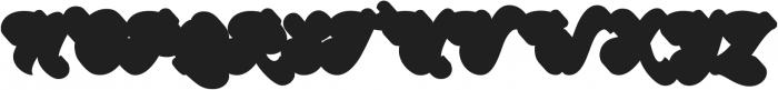 Halycoon Extrude otf (400) Font UPPERCASE