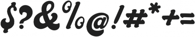 Halycoon Script ttf (400) Font OTHER CHARS