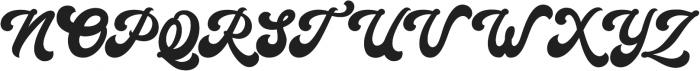 Halycoon Script ttf (400) Font UPPERCASE