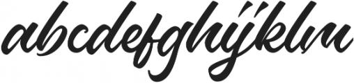 Hamburg Font otf (400) Font LOWERCASE