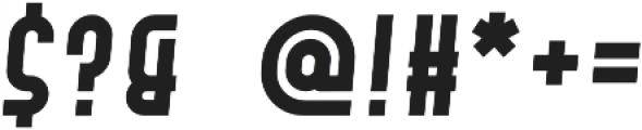 Hamburger Hop Bold Italic otf (700) Font OTHER CHARS