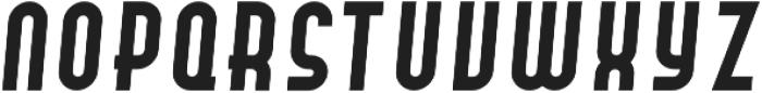 Hamburger Hop Bold Italic otf (700) Font UPPERCASE